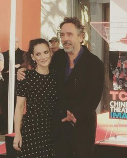 Winona Ryder and Tim Burton