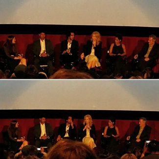 Cast and crew of Lion at AFI Film Festival.